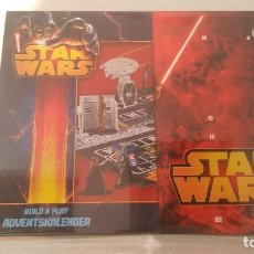 Juegos antiguos: STAR WARS ADVENT CALENDARIO 2013. Lote 163371978