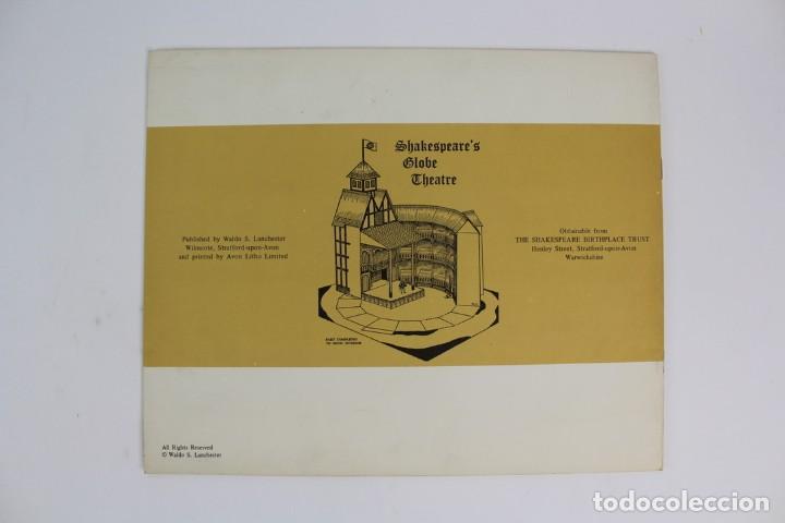 Juegos antiguos: TEATRO ,TEATRILLO RECORTABLE .SHAKESPEARE'S GLOBE THEATRE .WALDO S. LANCHESTER.AÑOS 70. - Foto 2 - 163676942