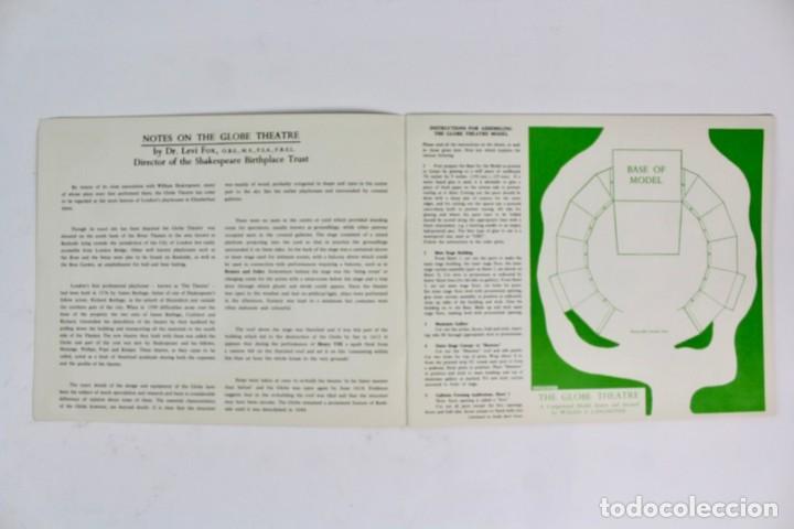 Juegos antiguos: TEATRO ,TEATRILLO RECORTABLE .SHAKESPEARE'S GLOBE THEATRE .WALDO S. LANCHESTER.AÑOS 70. - Foto 3 - 163676942