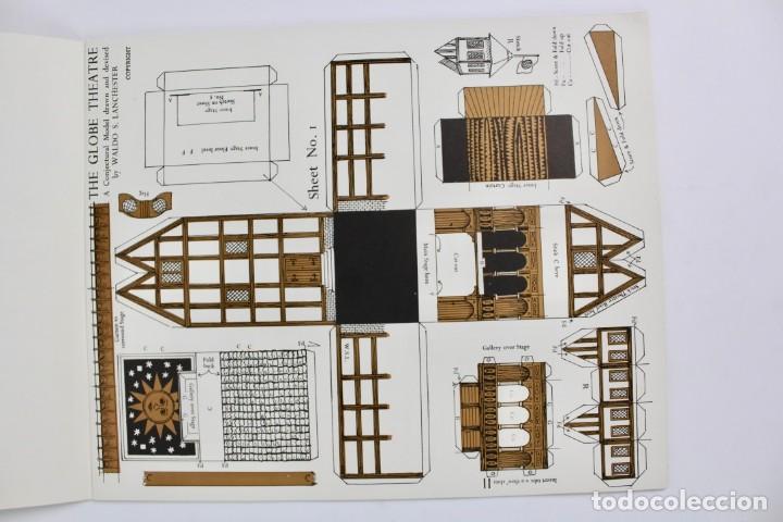 Juegos antiguos: TEATRO ,TEATRILLO RECORTABLE .SHAKESPEARE'S GLOBE THEATRE .WALDO S. LANCHESTER.AÑOS 70. - Foto 4 - 163676942