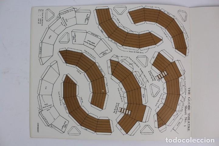 Juegos antiguos: TEATRO ,TEATRILLO RECORTABLE .SHAKESPEARE'S GLOBE THEATRE .WALDO S. LANCHESTER.AÑOS 70. - Foto 6 - 163676942