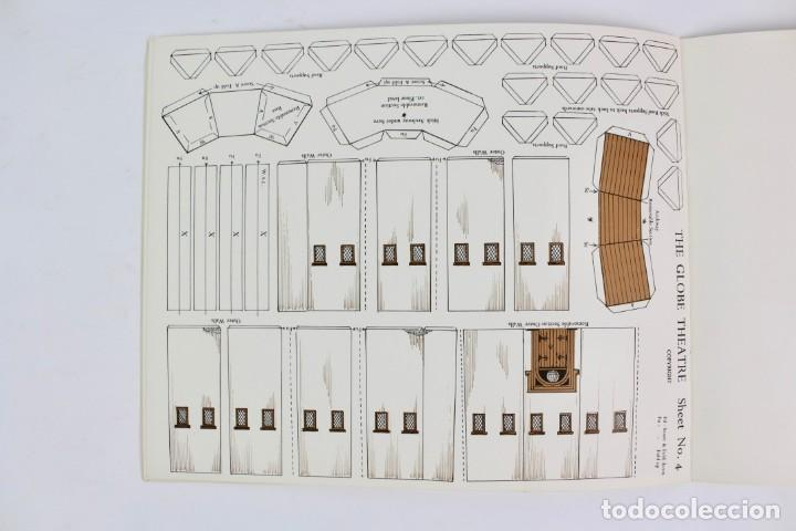 Juegos antiguos: TEATRO ,TEATRILLO RECORTABLE .SHAKESPEARE'S GLOBE THEATRE .WALDO S. LANCHESTER.AÑOS 70. - Foto 7 - 163676942
