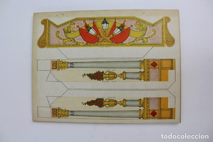 Juegos antiguos: TEATRO TEATRILLO .POLLOCKK LATE RICHARDSONS BOOTH.SAINT GEORGE AND THE DRAGON.AÑO 1971. - Foto 2 - 163702742
