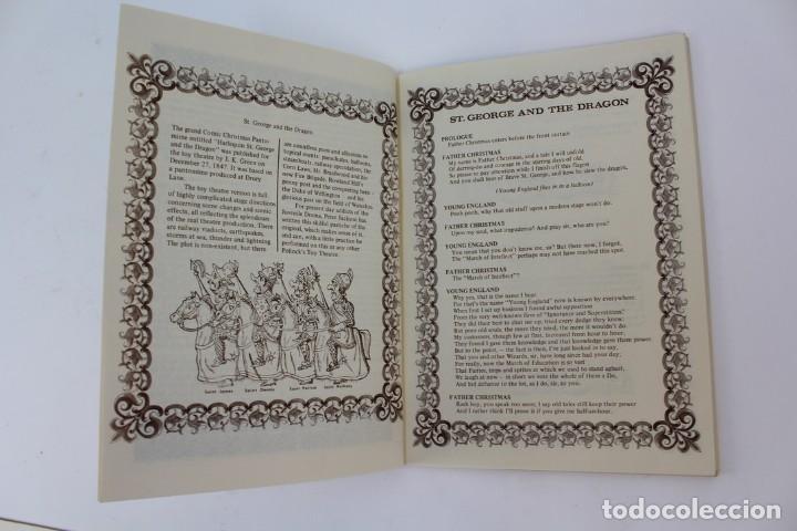 Juegos antiguos: TEATRO TEATRILLO .POLLOCKK LATE RICHARDSONS BOOTH.SAINT GEORGE AND THE DRAGON.AÑO 1971. - Foto 4 - 163702742