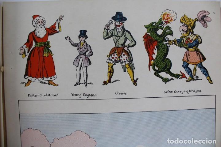 Juegos antiguos: TEATRO TEATRILLO .POLLOCKK LATE RICHARDSONS BOOTH.SAINT GEORGE AND THE DRAGON.AÑO 1971. - Foto 11 - 163702742