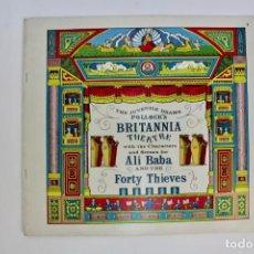 Juegos antiguos: TEATRO TEATRILLO.POLLOCK'S BRITANNIA THEATRE .ALI BABA FORTY THIEVES.AÑOS 70.. Lote 163709718