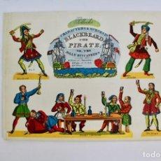 Juegos antiguos: OBRA PARA TEATRO O TEATRILLO.BLACKBEARD THE PIRATE .EDITORIAL POLLOCK'S.AÑO 1972.. Lote 163723042
