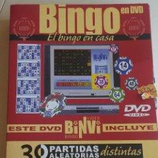 Juegos antiguos: BINGO EN DVD. EL BINGO EN CASA. BINVI VIDEO.. Lote 164835970