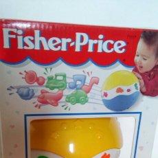 Juegos antiguos: PELOTA RÍGIDA MIL SONIDOS.FISHER PRICE 1995.NUEVA EN CAJA.. Lote 164865654