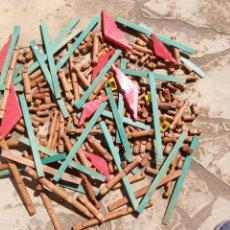 Juegos antiguos: ANTIGUO GRAN JUEGO CONSTRUCCIÓN MADERA. GOULA? MECCANO. Lote 167914785