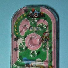 Juegos antiguos: PEQUEÑA MAQUINA DE PINBALL. TIENE 4 BOLAS. FUNCIONA PERFECTAMENTE. VER FOTOS. NO PUBLICITARIA.. Lote 168507456