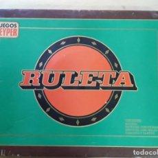Juegos antiguos: JUEGO DE RULETA ANTIGUO,GEYPER,REF 767,COMPLETO. Lote 169731576