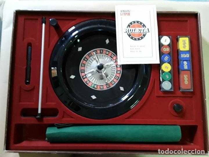 Juegos antiguos: Juego de ruleta antiguo,geyper,ref 767,completo - Foto 2 - 169731576