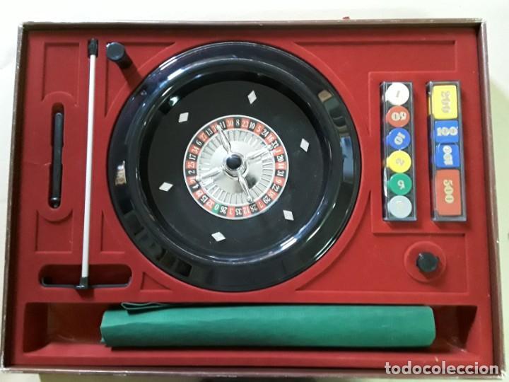 Juegos antiguos: Juego de ruleta antiguo,geyper,ref 767,completo - Foto 3 - 169731576