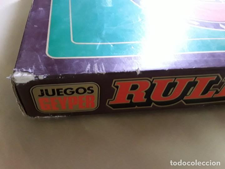 Juegos antiguos: Juego de ruleta antiguo,geyper,ref 767,completo - Foto 4 - 169731576