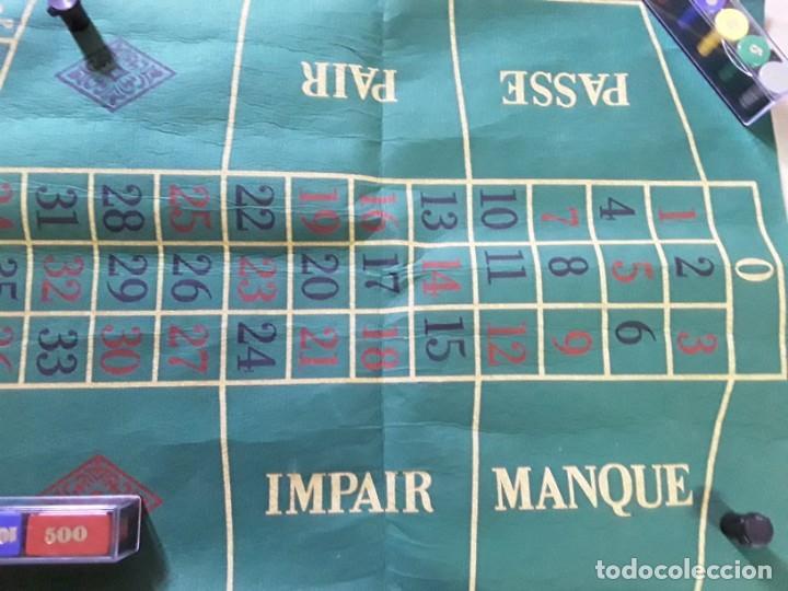 Juegos antiguos: Juego de ruleta antiguo,geyper,ref 767,completo - Foto 8 - 169731576