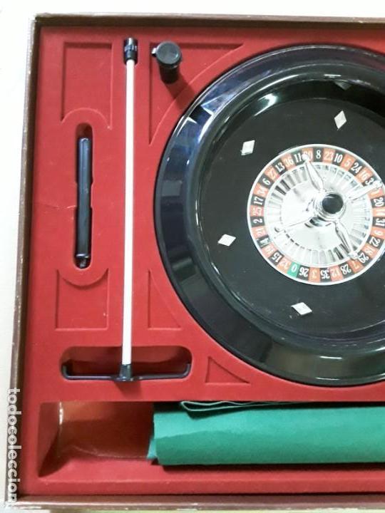 Juegos antiguos: Juego de ruleta antiguo,geyper,ref 767,completo - Foto 12 - 169731576