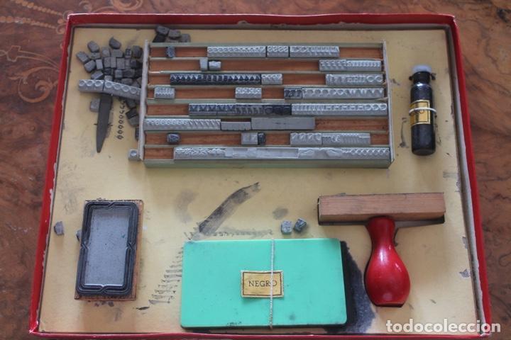 Juegos antiguos: Imprenta infantil años 50. IMPRESORES - Foto 2 - 171783904