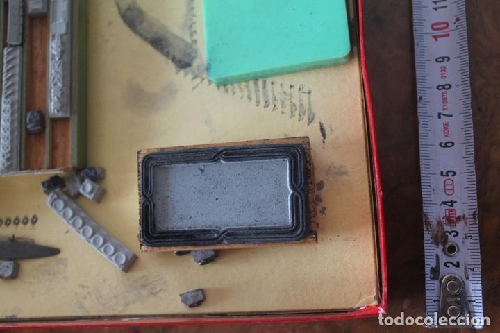 Juegos antiguos: Imprenta infantil años 50. IMPRESORES - Foto 3 - 171783904