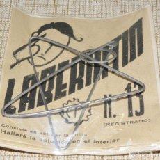 Juegos antiguos: LABERINTÍN Nº 13 - JUEGOS IMPOSIBLES . Lote 172167354