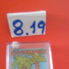 Juegos antiguos: MINI JUEGO DE AGUA (6 CM) COCOMONOS.CHICOS 80S.SIN USO.VER ESTADO.. Lote 183363477