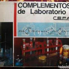 Juegos antiguos: COMPLEMENTOS DE LABORATORIO - CEFA. Lote 173511447