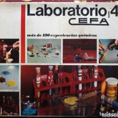 Juegos antiguos: LABORATORIO 4 - CEFA. Lote 173511850