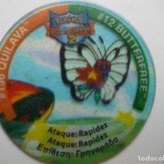 Giochi antichi: TAZO POKEMON NINTENDO LEAGUE 2. Lote 175088743
