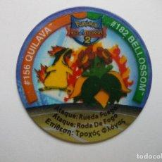 Giochi antichi: TAZO POKEMON NINTENDO LEAGUE 2. Lote 175088750