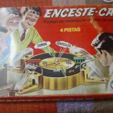 Juegos antiguos: ENCESTE CAR DE MADEL. JUEGO DE DESTREZA. COMPLETO. Lote 176134109