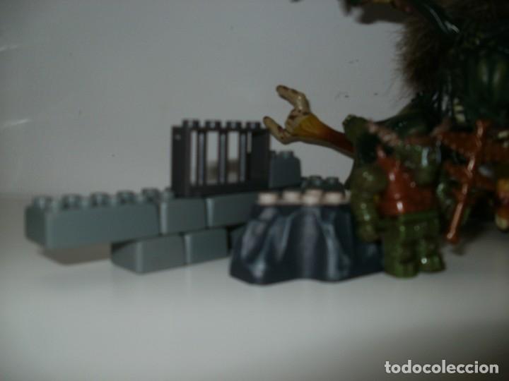 Juegos antiguos: MEGA BLOCKS DRAGON Y GUERREROS TROLL O SIMILAR PIEZAS - Foto 9 - 176367757