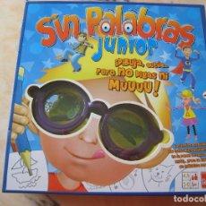 Juegos antiguos: SIN PALABRAS JUNIOR DE GOLIAT. Lote 176543268