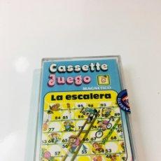 Juegos antiguos: CASSETE JUEGO MAGNETICO ,LA ESCALERA , CJ-11 CHICOS,CINTA, MAGNETICO JUEGO,DE VIAJE.FEBER. Lote 176607873