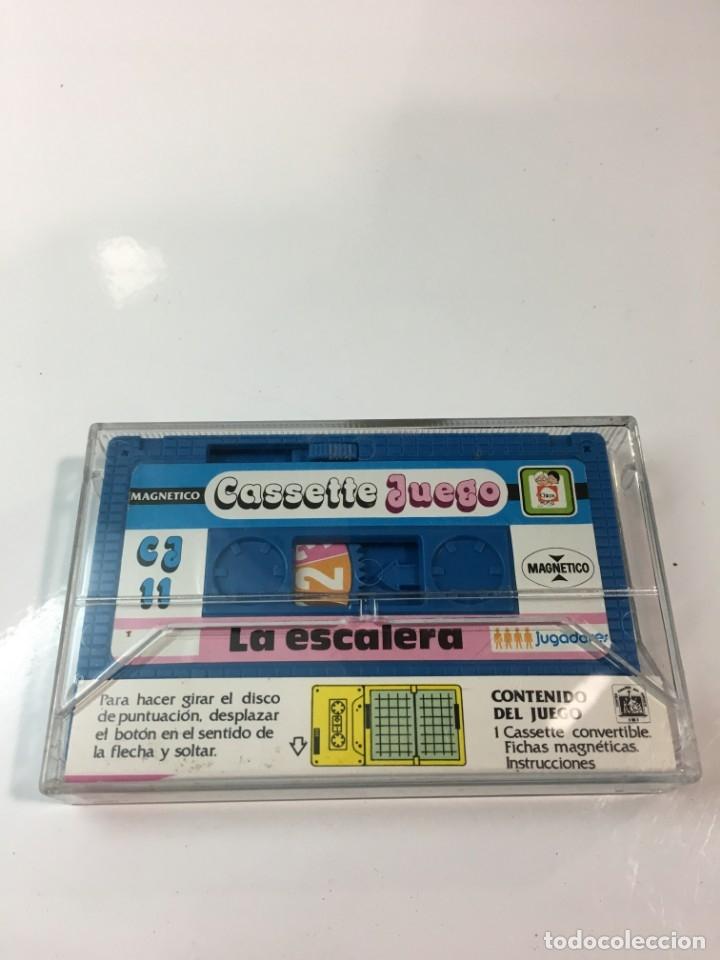 Juegos antiguos: Cassete Juego magnetico ,La escalera , CJ-11 Chicos,cinta, magnetico Juego,de viaje.feber - Foto 6 - 176607873