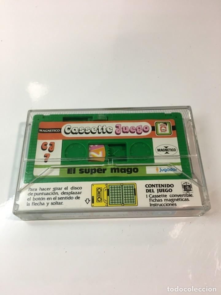 Juegos antiguos: Cassete Juego magnetico ,El Super mago , CJ-7 Chicos,cinta, magnetico Juego,de viaje.feber - Foto 6 - 176608007