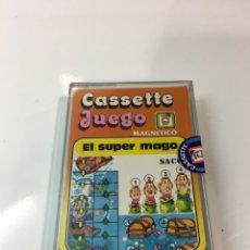Juegos antiguos: CASSETE JUEGO MAGNETICO ,EL SUPER MAGO , CJ-7 CHICOS,CINTA, MAGNETICO JUEGO,DE VIAJE.FEBER. Lote 176608007