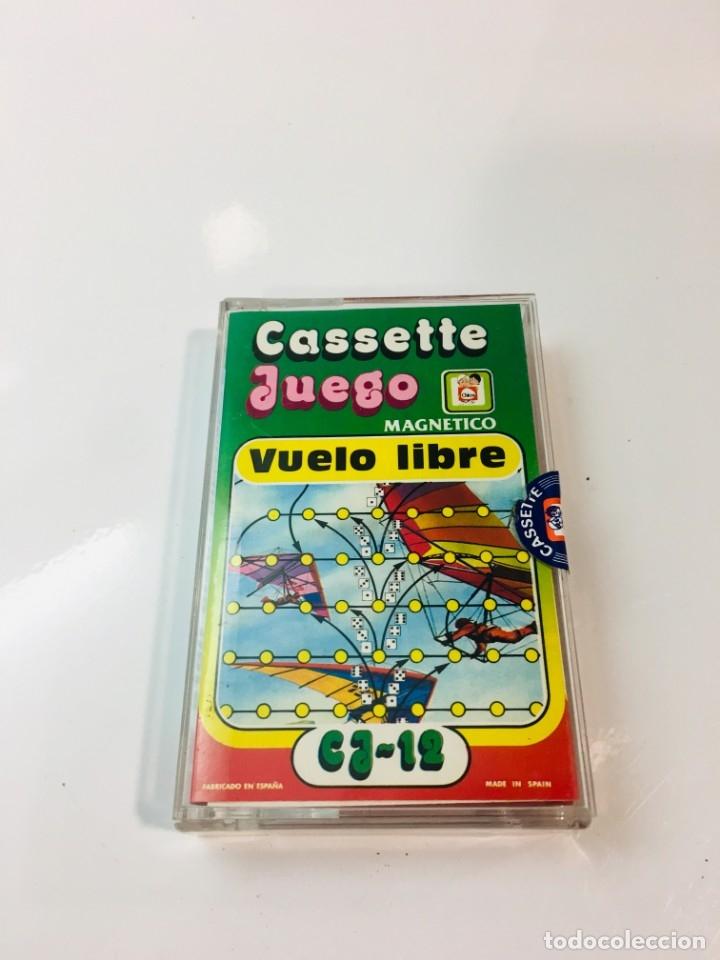 CASSETE JUEGO MAGNETICO ,VUELO LIBRE , CJ-12 CHICOS,CINTA, MAGNETICO JUEGO,DE VIAJE.FEBER (Juguetes - Juegos - Otros)