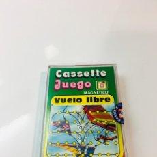 Juegos antiguos: CASSETE JUEGO MAGNETICO ,VUELO LIBRE , CJ-12 CHICOS,CINTA, MAGNETICO JUEGO,DE VIAJE.FEBER. Lote 176608152