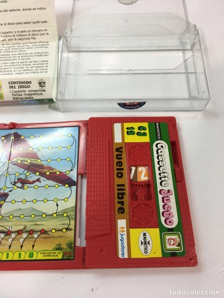 Juegos antiguos: Cassete Juego magnetico ,Vuelo Libre , CJ-12 Chicos,cinta, magnetico Juego,de viaje.feber - Foto 4 - 176608152