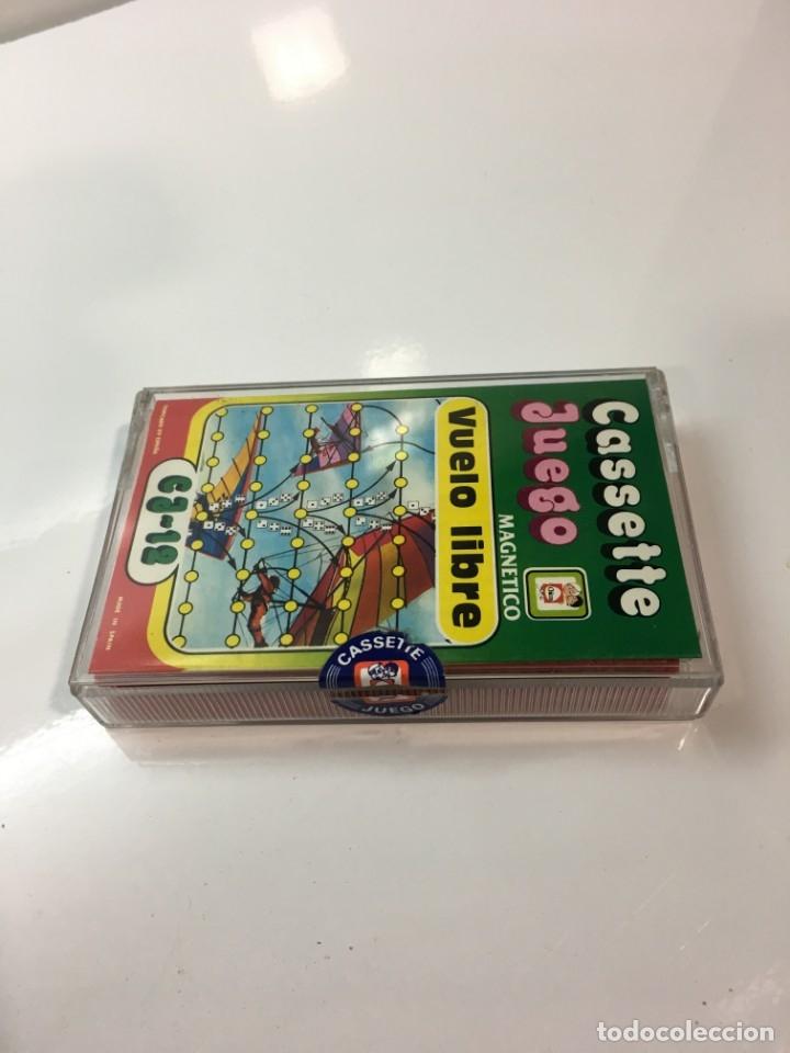 Juegos antiguos: Cassete Juego magnetico ,Vuelo Libre , CJ-12 Chicos,cinta, magnetico Juego,de viaje.feber - Foto 6 - 176608152