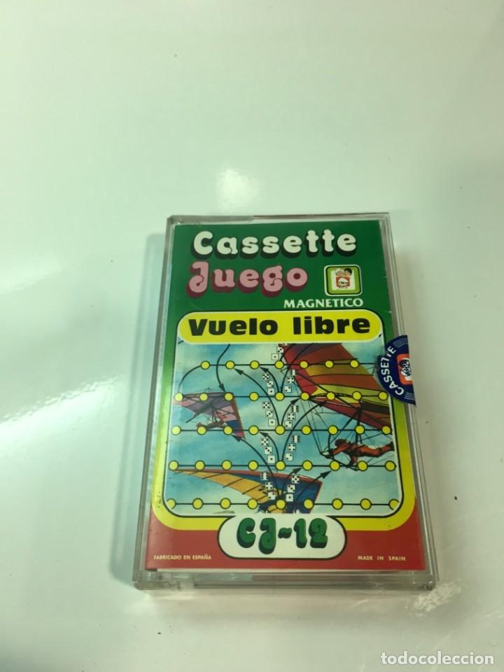 Juegos antiguos: Cassete Juego magnetico ,Vuelo Libre , CJ-12 Chicos,cinta, magnetico Juego,de viaje.feber - Foto 8 - 176608152