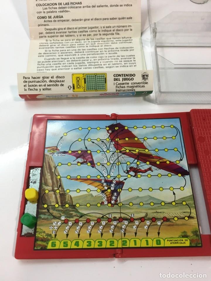 Juegos antiguos: Cassete Juego magnetico ,Vuelo Libre , CJ-12 Chicos,cinta, magnetico Juego,de viaje.feber - Foto 9 - 176608152