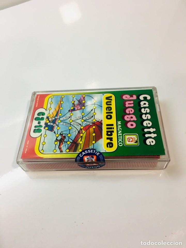 Juegos antiguos: Cassete Juego magnetico ,Vuelo Libre , CJ-12 Chicos,cinta, magnetico Juego,de viaje.feber - Foto 10 - 176608152