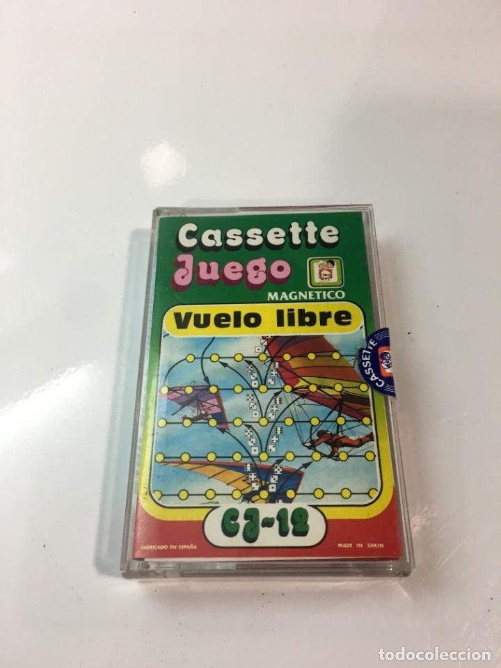 Juegos antiguos: Cassete Juego magnetico ,Vuelo Libre , CJ-12 Chicos,cinta, magnetico Juego,de viaje.feber - Foto 11 - 176608152