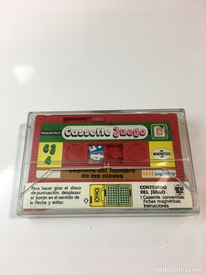Juegos antiguos: Cassete Juego magnetico ,Captura del hombre de las Nieves, CJ-14 Chicos,cinta, feber - Foto 2 - 176608310