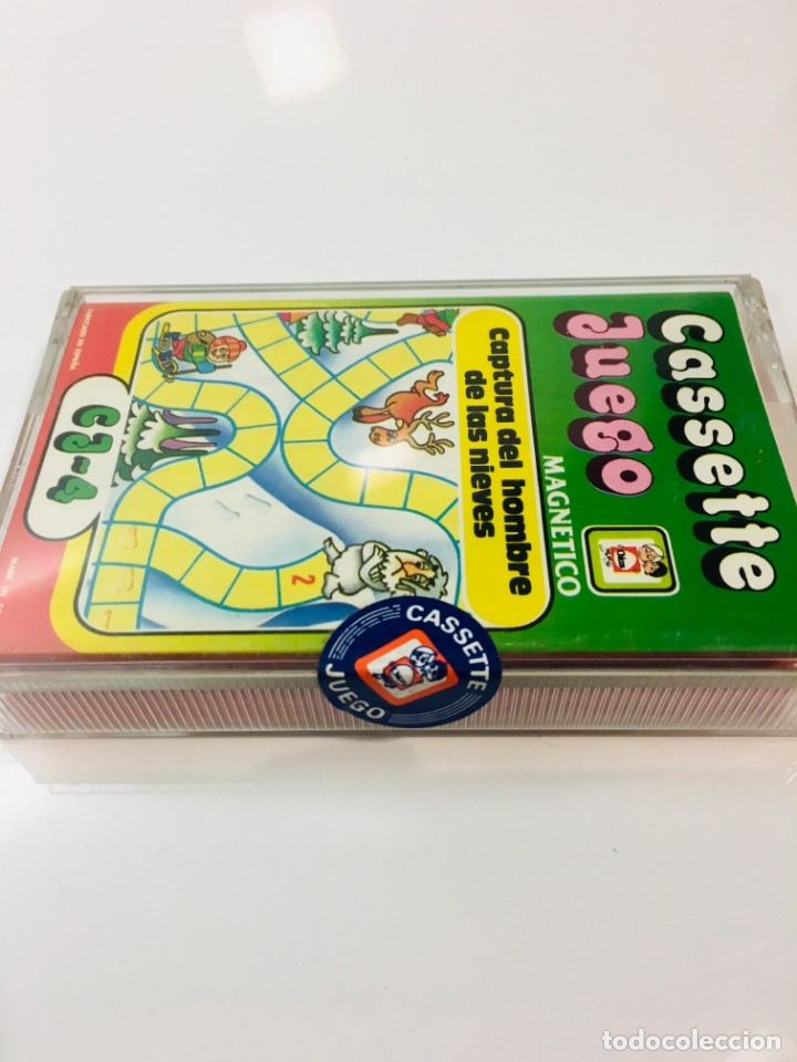 Juegos antiguos: Cassete Juego magnetico ,Captura del hombre de las Nieves, CJ-14 Chicos,cinta, feber - Foto 3 - 176608310