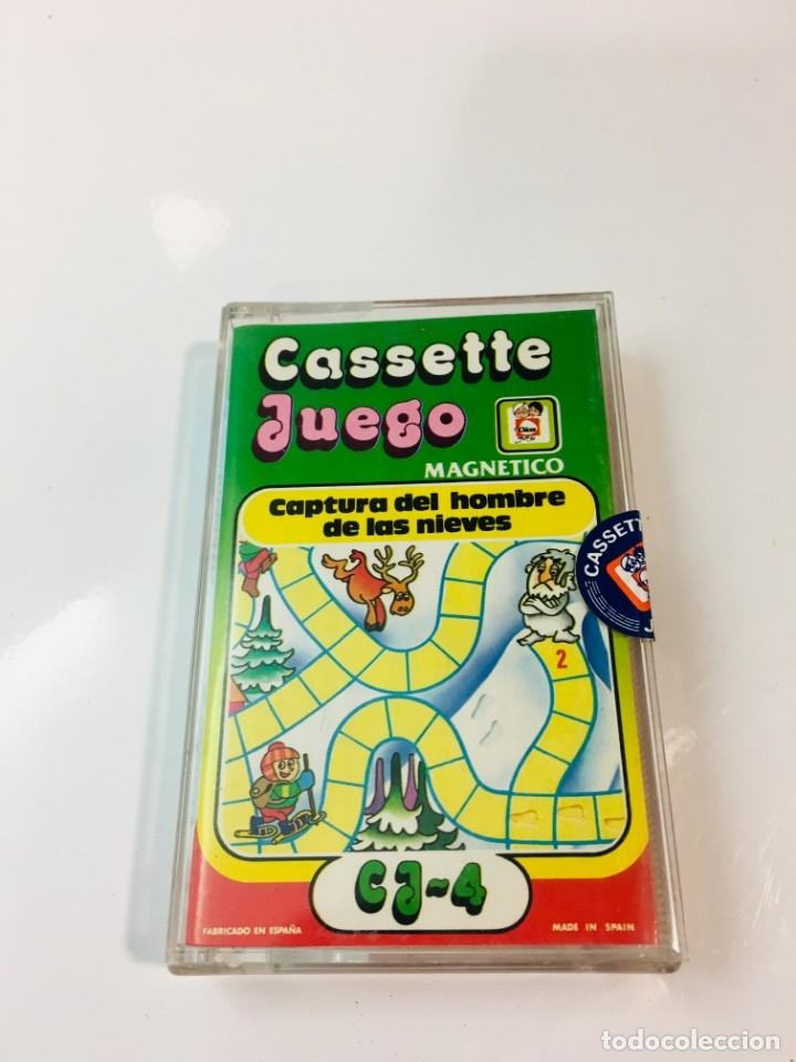 CASSETE JUEGO MAGNETICO ,CAPTURA DEL HOMBRE DE LAS NIEVES, CJ-14 CHICOS,CINTA, FEBER (Juguetes - Juegos - Otros)