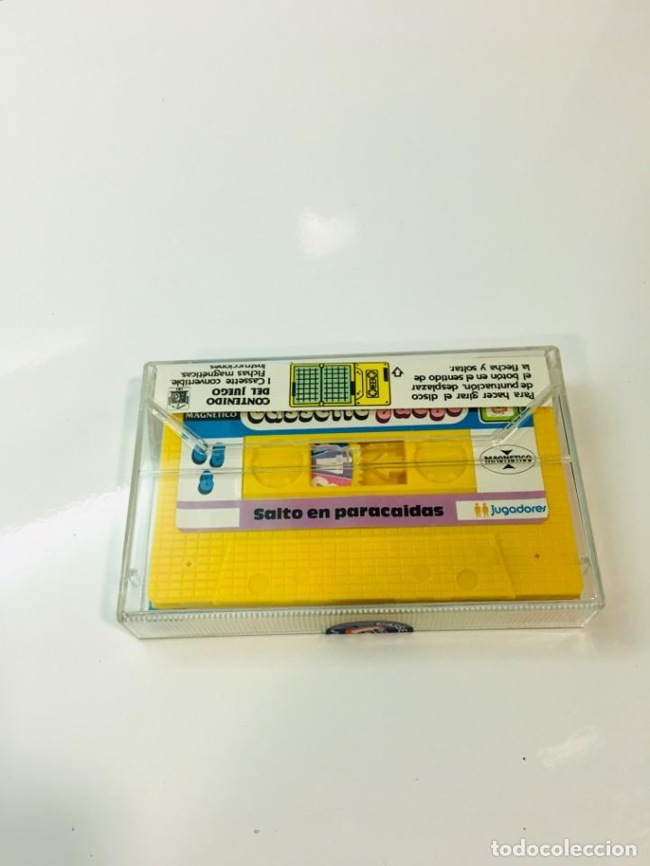 Juegos antiguos: Cassete Juego magnetico ,Salto en paracidas, CJ-3 Chicos,cinta,feber - Foto 2 - 176608487