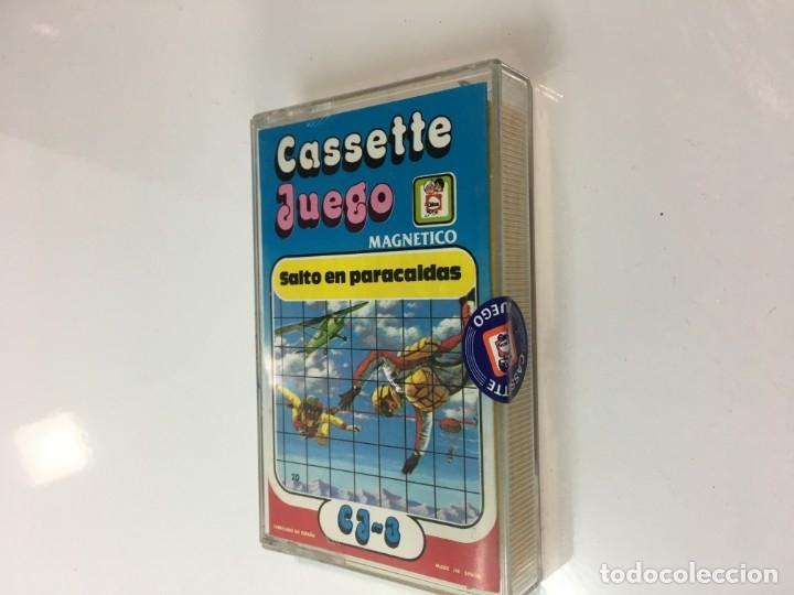 Juegos antiguos: Cassete Juego magnetico ,Salto en paracidas, CJ-3 Chicos,cinta,feber - Foto 6 - 176608487