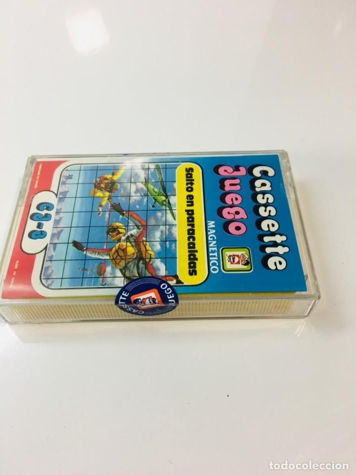 Juegos antiguos: Cassete Juego magnetico ,Salto en paracidas, CJ-3 Chicos,cinta,feber - Foto 7 - 176608487